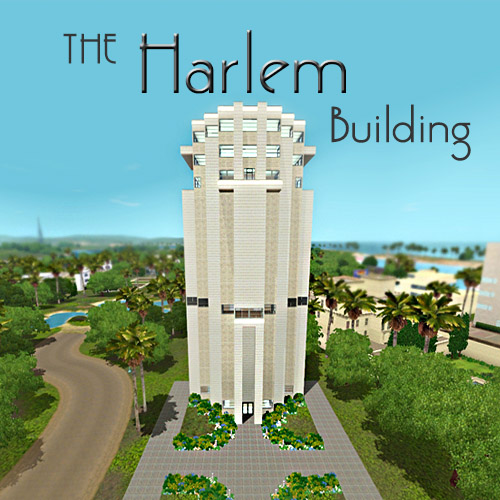 Sims  Deco Buildings